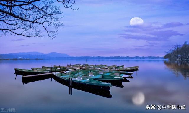 水的诗句,一首趣味盎然的小诗,一山一水生机勃勃,每一句都美得如诗如画