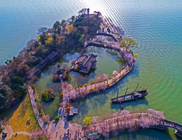 太湖鼋头渚风景区,中华第一赏樱胜地——无锡鼋头渚樱花摄影采风旅游攻略