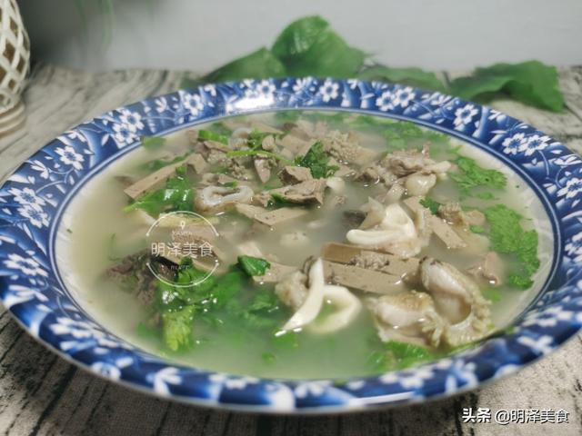 羊杂汤的做法,喜欢喝羊杂汤却不懂做法的朋友们,让我来教你怎样做