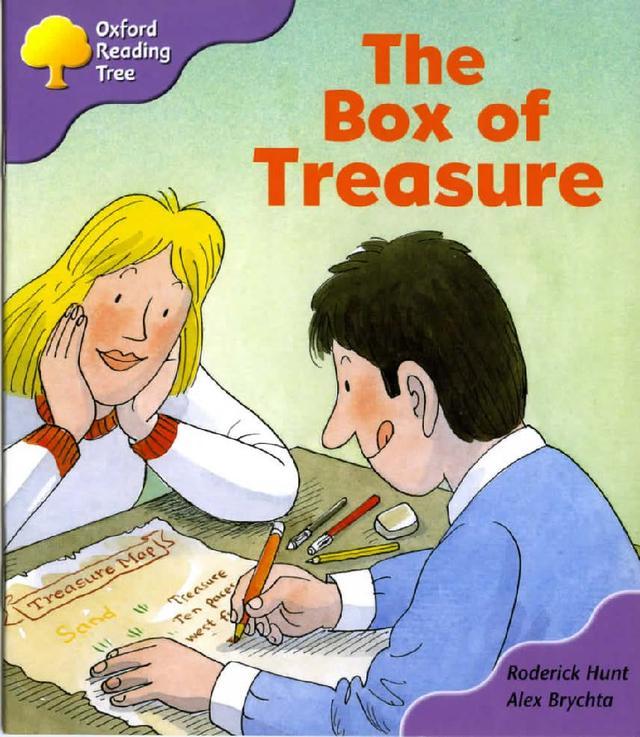 牛津阅读树一级绘本读物《The box of treasure》