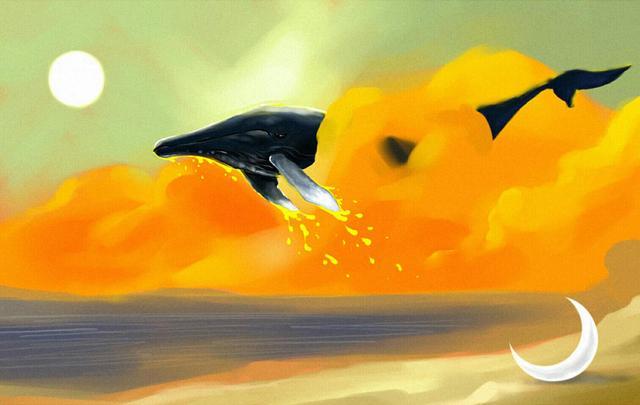 """周公解梦梦见鱼,看破天地大道,和人间幻梦:""""毕竟几人真得鹿,不知终日梦为鱼"""""""