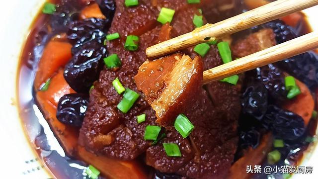 扣肉的家常做法,教你好吃的扣肉做法,做出来味道香甜,口感软糯,好吃不腻特解馋