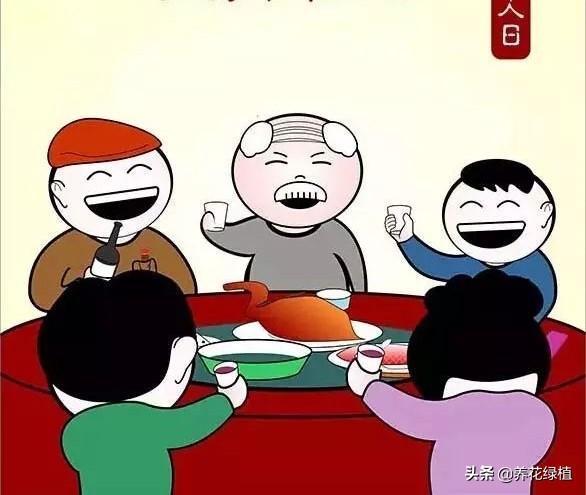 传统节日,正月二十七,是人日。看看有哪些传统习俗?别忘给老人做碗长寿面
