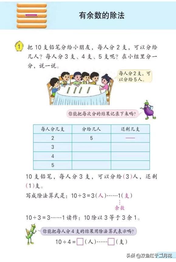 苏教版二年级下册数学1-3单元电子版
