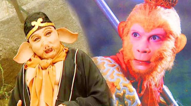 属猪和属猴,猴子和猪成了好朋友,每当饲养员想拆散它们,猴子就会骑着猪逃跑