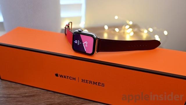 图 卖1万的爱马仕版Apple Watch开箱:包装常