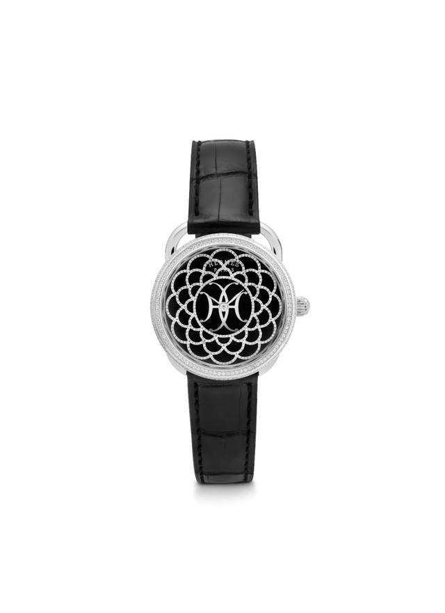 爱马仕又出新款手表,贝母细工镶嵌表盘
