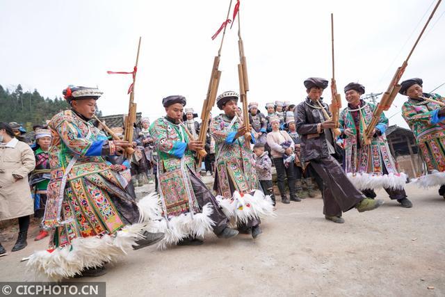 苗族的传统节日是什么,贵州榕江:苗族同胞欢庆鼓藏节