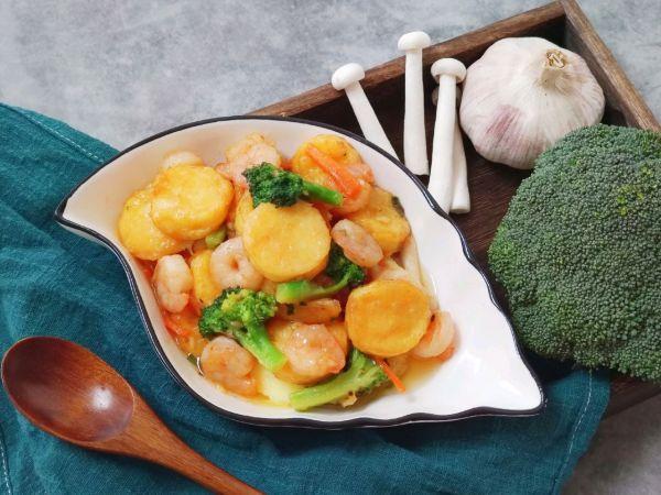日本豆腐的家常做法,新年福至三鲜日本豆腐