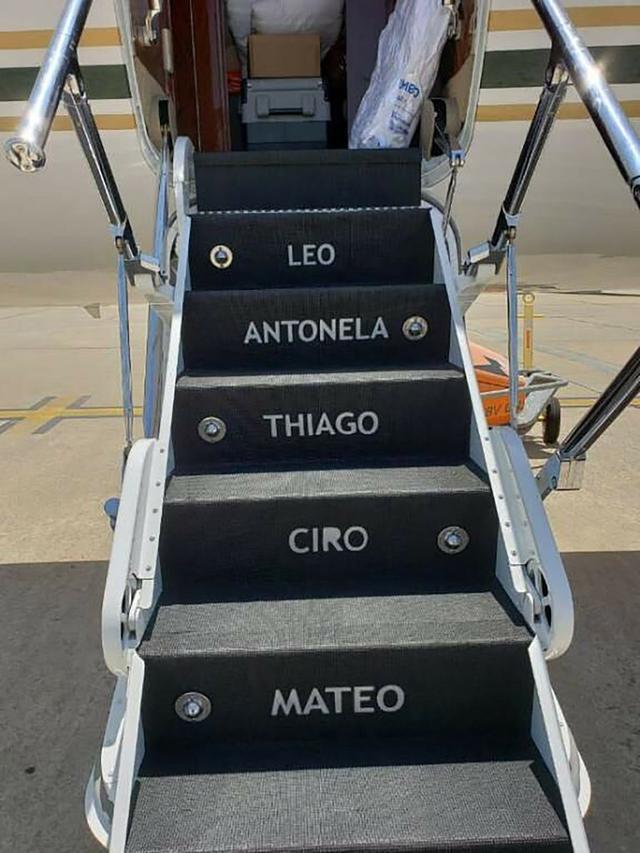 阿根廷总统出访租用梅西私人飞机,4天租金16万美元 全球新闻风头榜 第2张