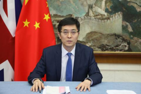 """中国外交官问BBC:知道网民把你们叫做""""英国偏见公司""""吗?"""