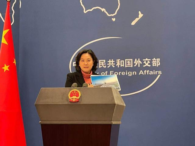 霸气!华春莹拿出两张照片:中国美国,到底谁在强迫劳动?