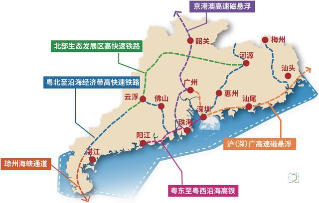 广东省国土空间规划2020