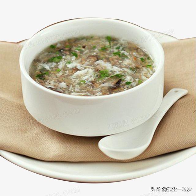 西湖牛肉羹的做法,材料不超10元钱,吃米饭配上它正好,在家我这样做西湖牛肉羹