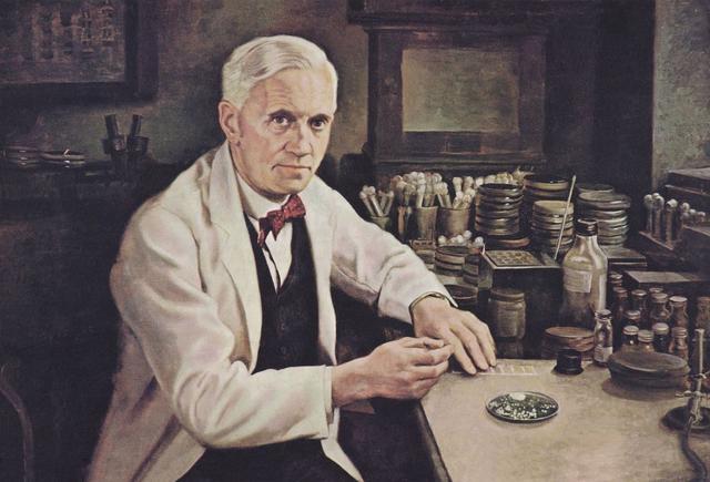 关于名人读书的故事,丘吉尔资助弗莱明读书,弗莱明发明青霉素治好他的肺炎?