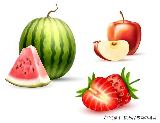 碱性食物有哪些,苹果、西瓜、草莓等都是碱性食物,多吃对身体好吗?