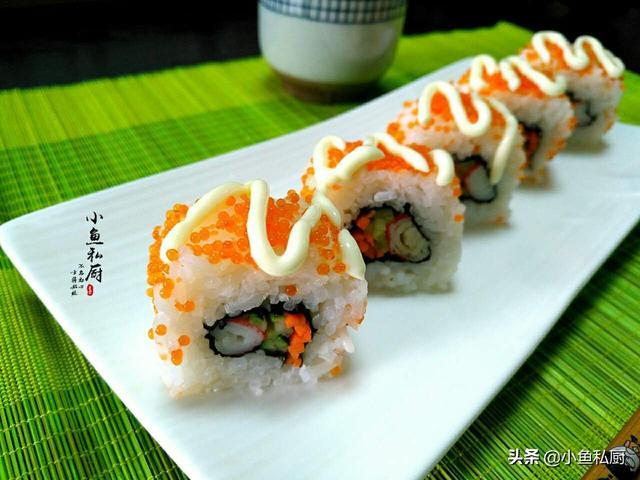 寿司的做法和材料,日料店售价30块的寿司,自己做,成本不到6元钱,喷香又简单