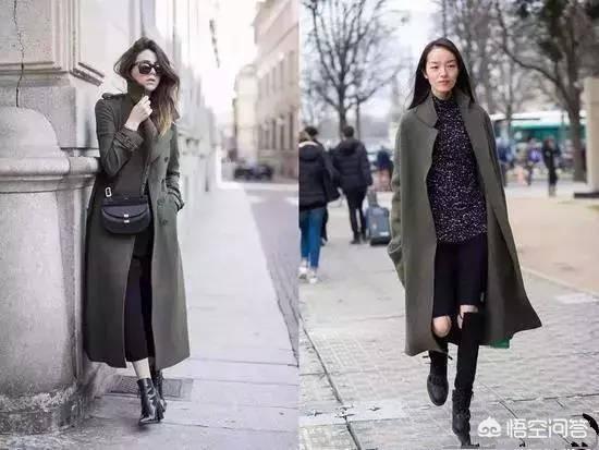 绿色外套内搭什么颜色,墨绿色大衣里面配什么好看?