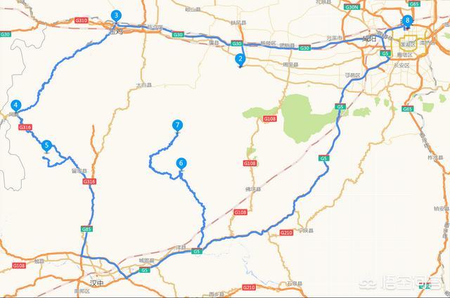 请问西安到武当山有多少公里?插图