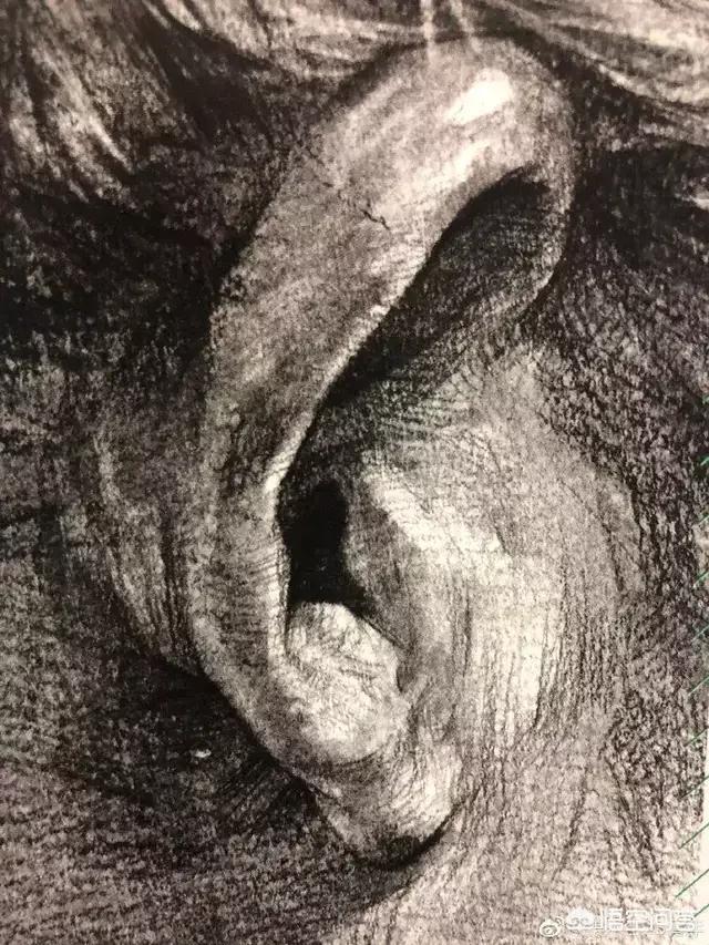 人物素描头像,画素描头像怎样画出人物的神态?