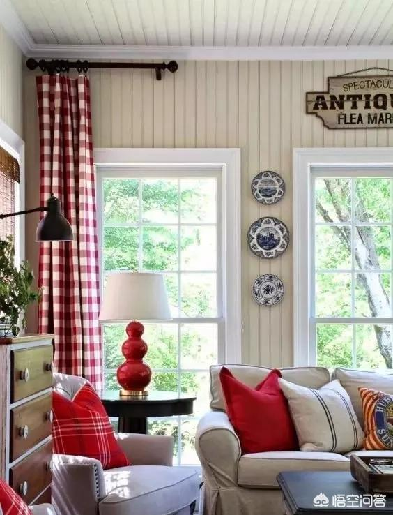 房间用什么颜色窗帘比较好?