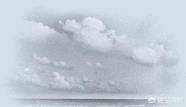 素描中的云朵该怎么画?
