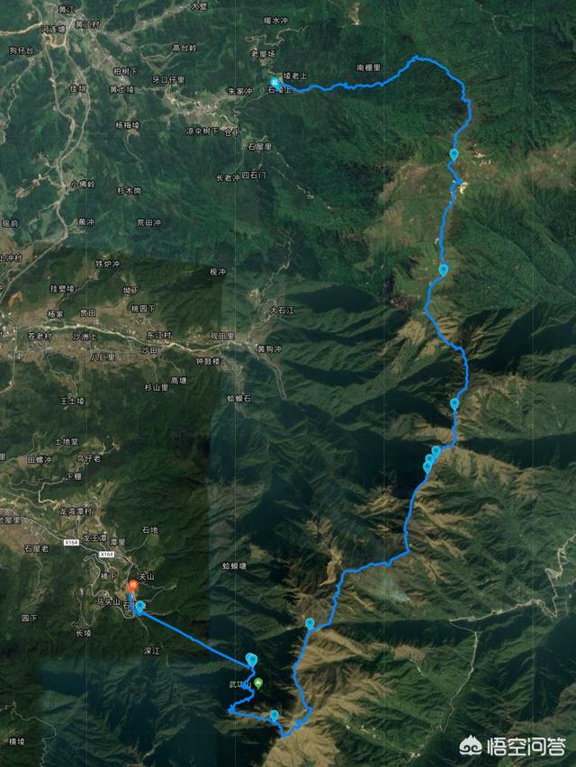 春节期间打算徒步武功山,有没有好的线路推荐