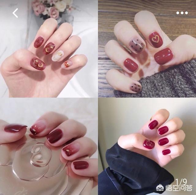 2012时尚美甲图案:有哪些好看的红色系美甲适合新年元旦?求推荐~?(相关长尾词)
