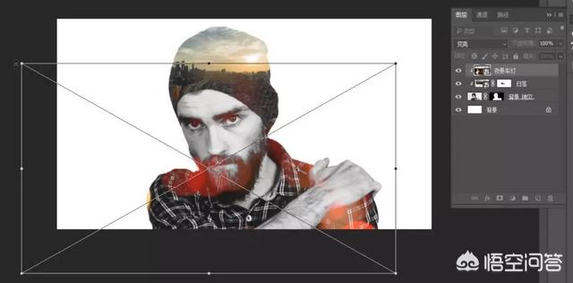 星星头像.,如何使用PS制作星空头像?