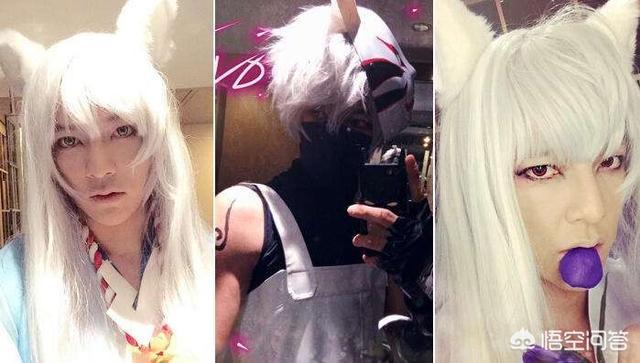 神乐头像,有哪些明星出过cosplay?
