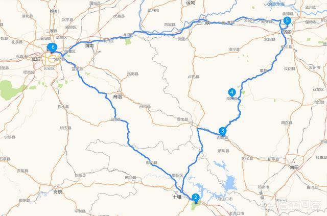 请问西安到武当山有多少公里?插图4