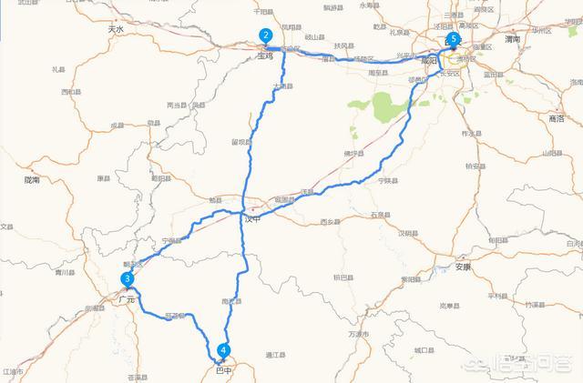 请问西安到武当山有多少公里?插图1