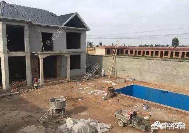 私家泳池的磁砖粘贴施工方法?