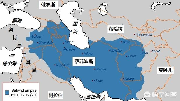 16世纪时,在世界范围内分别有哪些国家?各自实