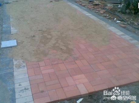 农村院子地面铺砖哪种砖好?