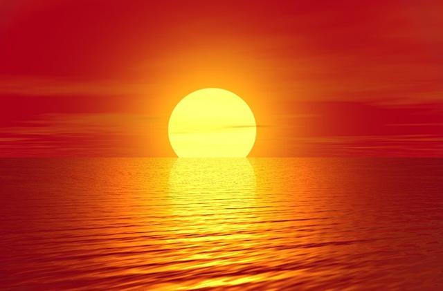 海上日出图片,海上日出描写日出前景色的句子?