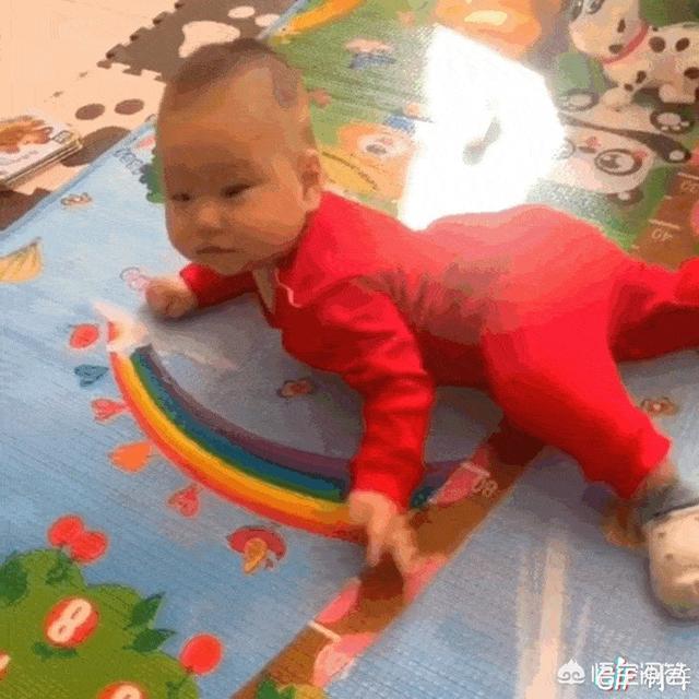 宝宝爬行有助成长发育,如何教宝宝爬行?