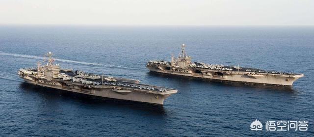 美国航母最多,海军实力第一,能单挑全世界1