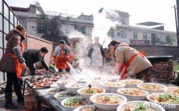 农村流水席五六百块一桌,都有哪些硬菜?