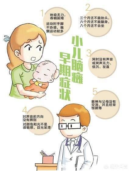 哪些婴儿易患脑瘫?