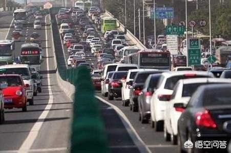 每到节假日高速都会堵车,五一你还会选择自驾游吗?