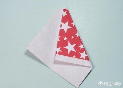 彩纸做简单圣诞节礼物,圣诞老人的手工折纸教程?
