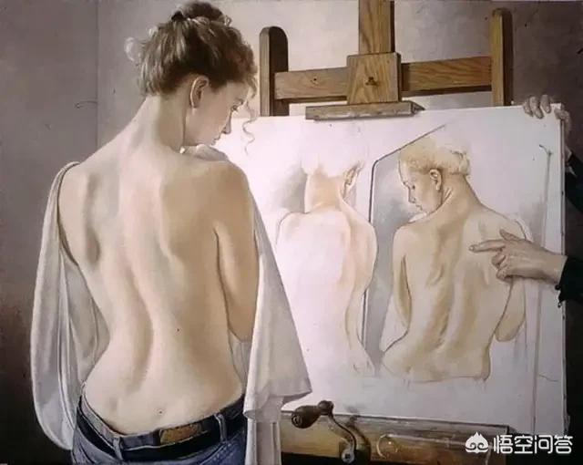光身子美女,人体艺术和人体美的分别是什么?