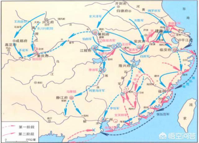 历史上蒙古军攻占鄂州后,为何要沿江东下攻击临安,而不直接经皖南,赣北直趋临安,岂不更快?