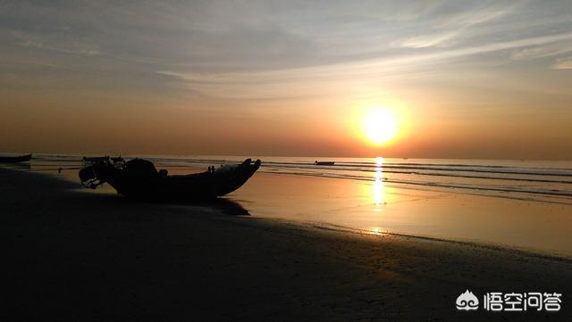海上日出图片,日照哪里可以看海上日出?