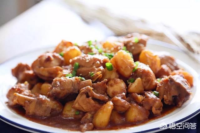 高压锅土豆闷鸡块的做法?