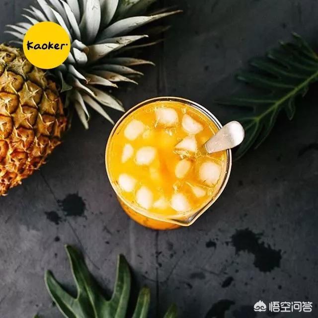 菠萝图片大全大图,可以用菠萝来和什么做最好吃呢?