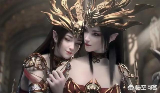 头像女动漫高冷女王范,国漫中有哪些双胞胎美女?