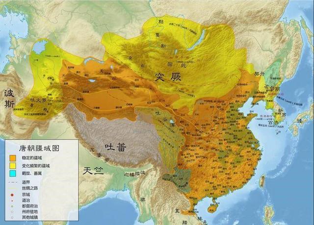 历史上的唐朝一共灭了多少个国家?