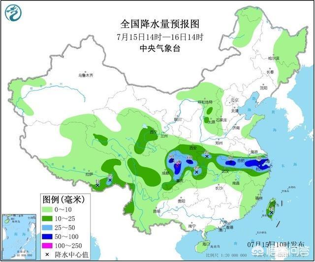 中国南方降雨天气预报,未来三天,我国降雨趋势如何?